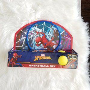Marvel | Spiderman Indoor Mini Basketball Set NIB